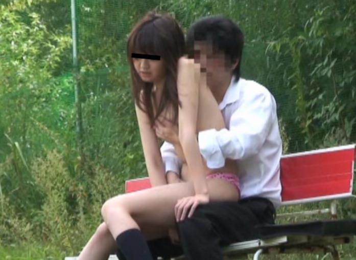 JK 野外セックス カップル